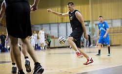 Goran Jagodnik during football and basketball charity event All Legends by Olimpiki, on June 9, 2015 in Hala Tivoli, Ljubljana, Slovenia. Photo by Vid Ponikvar / Sportida