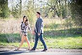 engagement photos at Black Bridge Road, Cambridge, Ontario