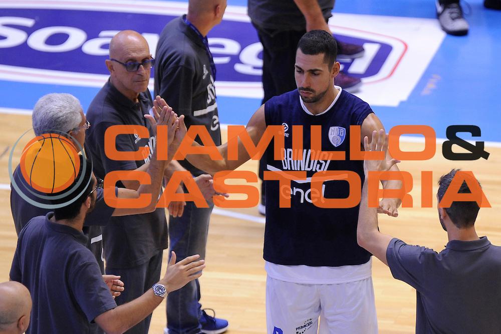 Marco Cardillo<br /> Enel Brindisi - Dolomiti Energia Trento<br /> Lega Basket Serie A 2016/2017<br /> Brindisi, 02/10/2016<br /> Foto Ciamillo-Castoria