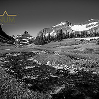 siyeh creek preston park glacier national park reynolds peak