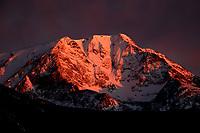 Mount Ypsilon Sunrise In Rocky Mountain National Park, Colorado