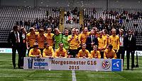 Fotball , 20 . november 2015 , NM finale G16<br /> Brann - Lillestrøm 1-4<br /> LSK norgesmester