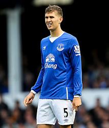 Everton's John Stones   - Mandatory byline: Matt McNulty/JMP - 07966386802 - 12/09/2015 - FOOTBALL - Goodison Park -Everton,England - Everton v Chelsea - Barclays Premier League