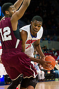 DALLAS, TX - NOVEMBER 26: Yanick Moreira #2 of the SMU Mustangs drives to the basket against the Texas Southern Tigers on November 26, 2014 at Moody Coliseum in Dallas, Texas.  (Photo by Cooper Neill/Getty Images) *** Local Caption *** Yanick Moreira