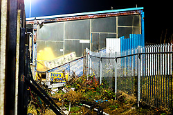 General view of the derelict Bishop Street Stand at the One Call Stadium, home to Mansfield Town - Mandatory by-line: Ryan Crockett/JMP - 04/12/2018 - FOOTBALL - One Call Stadium - Mansfield, England - Mansfield Town v Bury - Checkatrade Trophy