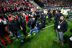 30th September 2017 - Ligue 1 Football - Amiens v Lille - X - Photo: Offside / Presse Sports.