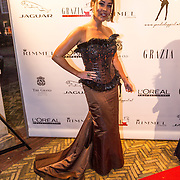NLD/Amsterdam/20130923 - Grazia Red Carpet Awards 2013, Hind Larrousie Tahiri