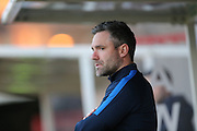 Assistant Manager David Dunn during the Barclays U21 Premier League match between U21 Brighton and Hove Albion and U21 Blackburn Rovers at the Checkatrade.com Stadium, Crawley, England on 4 April 2016.