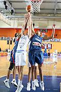 DESCRIZIONE : Valmiera Latvia Lettonia Eurobasket Women 2009 Francia Italia France Italy<br /> GIOCATORE : Sandrine Gruda Laura Macchi Emmeline Ndongue<br /> SQUADRA : Italia Italy Francia France<br /> EVENTO : Eurobasket Women 2009 Campionati Europei Donne 2009 <br /> GARA : Francia Italia France Italy<br /> DATA : 07/06/2009 <br /> CATEGORIA : rimbalzo<br /> SPORT : Pallacanestro <br /> AUTORE : Agenzia Ciamillo-Castoria/E.Castoria<br /> Galleria : Eurobasket Women 2009 <br /> Fotonotizia : Valmiera Latvia Lettonia Eurobasket Women 2009 Francia Italia France Italy<br /> Predefinita :