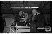"Launch Of New Ford Corsair..1963..01.10.1963..10.01.1963..1st October 1963..Today saw the launch of a new car to the market. At the Smithfield Motor Company in Drumcondra, Ford launched ""The Corsair"".,The Corsair was one of the four model Consul range, and shared many of its mechanical components with the Cortina, Classic and Capri. The Corsair had unusual and quite bold styling for its day, with a sharp horizontal V-shaped crease at the very front of the car into which round headlights were inset...Image shows Mr and Mrs Michael Collins of Terenure, Dublin purchasing the new Corsair for both him and her from Mr Joe Murphy, General Manager,Smithfield Motor Company, Drumcondra."