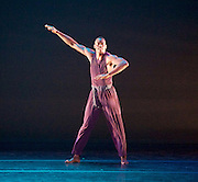 Alvin Ailey American Dance Theater<br /> at <br /> Sadler&rsquo;s Wells London Season and subsequent UK Tour 6 Sept &ndash; 19 Oct 2016<br /> <br /> <br /> Artistic director Robert Battle<br /> <br /> 7th September 2016 <br /> <br /> <br /> Jamar Roberts in <br /> rehearsal <br /> <br /> Alvin Ailey American Dance Theater, founded in 1958, is recognised by the U.S. Congress as a vital American &ldquo;Cultural Ambassador to the World.&rdquo;  Under the leadership of Artistic Director Robert Battle, Ailey&rsquo;s performances celebrate the human spirit through the African-American cultural experience and the American modern dance tradition.  In almost six decades, Ailey&rsquo;s artists have performed for over 25 million people in 71 countries on six continents and continue to wow audiences and critics around the world.<br /> <br />  <br /> <br /> Four Corners (UK PREMIERE) Choreographer: Ronald K. Brown / Music: Carl Hancock Rux, Yacoub &amp; Various Artists. Four Corners brings to life the vision of four angels standing on the four corners of the earth holding the four winds. Drawing inspiration from the lyrics of Rux's Lamentations, Four Corners trails 11 dancers as they rise to seek a life of peace on the &ldquo;mountaintop&rdquo;; a powerful and hope-filled journey of tribulation, devotion and triumph.<br /> <br /> <br /> Photograph by Elliott Franks <br /> Image licensed to Elliott Franks Photography Services