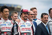 Fernando Alonso<br /> TOYOTA GAZOO  Racing. <br /> Le Mans 24 Hours Race, 11th to 17th June 2018<br /> Circuit de la Sarthe, Le Mans, France.