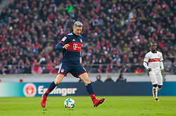 December 16, 2017 - Stuttgart, Germany - Bayerns Robert Lewandowski initiates a counter during the German first division Bundesliga football match between VfB Stuttgart and Bayern Munich on December 16, 2017 in Stuttgart, Germany. (Credit Image: © Bartek Langer/NurPhoto via ZUMA Press)