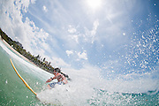 2012, February 22: Dane Pioli surfs at Duranbah Beach on the Queensland and New South Wales border, Australia on Wednesday February 22nd, 2012. (Photo: Matt Roberts/OOL media)