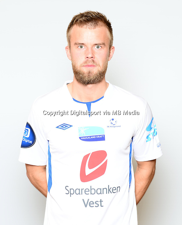 Fotball , Tippeligaen 2014 , Elitesereien<br /> , portrett , portretter<br /> Haugesund<br /> Christian Gytkj&aelig;r