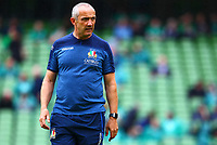 Rugby Union - 2019 pre-Rugby World Cup warm-up - Ireland vs. Italy<br /> <br /> Italy head coach, Conor O'Shea before the game at The Aviva Stadium.<br /> <br /> COLORSPORT/KEN SUTTON