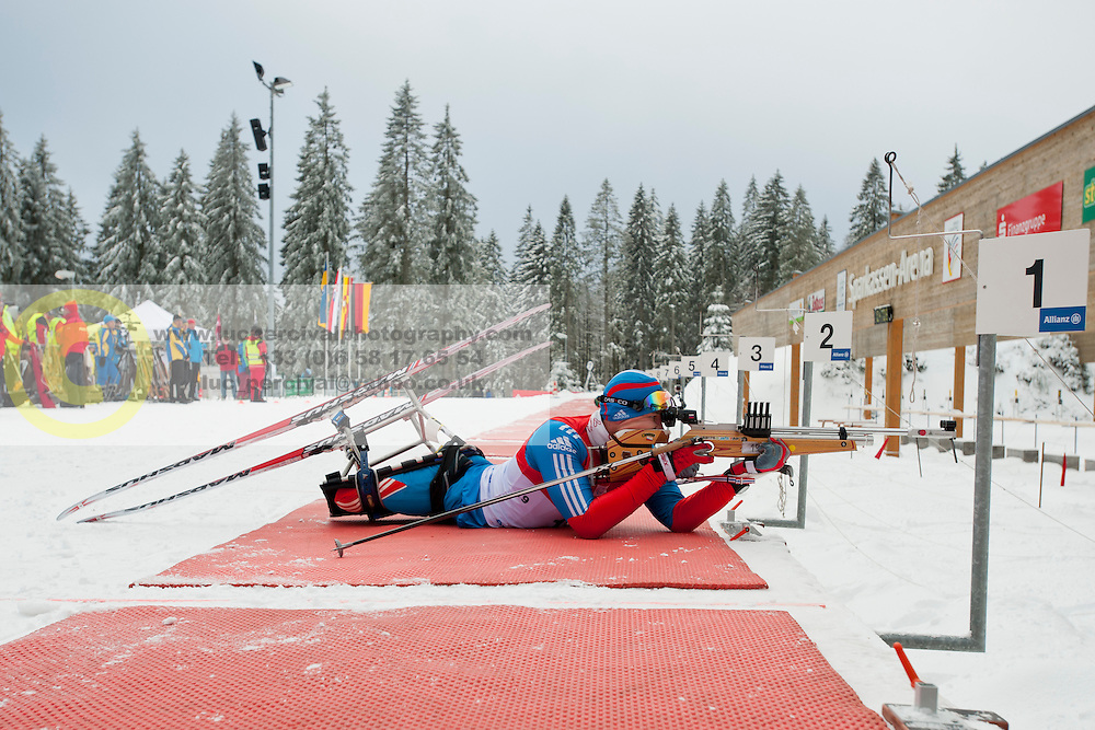 BYCHENOK Aiexey, Biathlon Middle Distance, Oberried, Germany