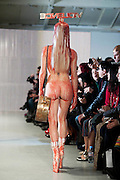 Charlie Le Mindu Fashion show day 3 of London Fashion Week at On Off Gallery....Photographs by Ki Price 07940447610..