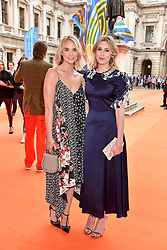 Left to right, Joanna Vanderham and Laura Carmichael at the Royal Academy of Arts Summer Exhibition Preview Party 2017, Burlington House, London England. 7 June 2017.
