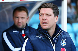 Bristol Rovers manager Darrell Clarke and assistant coach Marcus Stewart - Mandatory by-line: Matt McNulty/JMP - 11/11/2017 - FOOTBALL - Glanford Park - Scunthorpe, England - Scunthorpe United v Bristol Rovers - Sky Bet League One