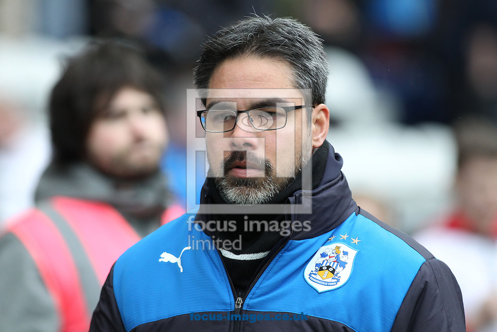 David Wagner, manager of Huddersfield Town on the touchline prior to the Sky Bet Championship match against Preston North End at Deepdale, Preston.<br /> Picture by Michael Sedgwick/Focus Images Ltd +44 7900 363072<br /> 06/02/2016