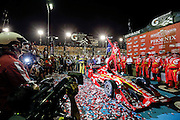 1-2 April, 2016, Avondale, Arizona USA<br /> Scott Dixon celebrates his win in Gatorade Victory Lane<br /> &copy;2016, Sam Cobb<br /> LAT Photo USA