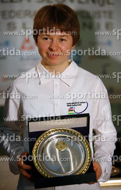 Rider Tanja Zakelj, the best Slovenian women rider in 2006, on December 13, 2006, Ljubljana, Slovenia. (Photo by Vid Ponikvar / Sportal Images)/ Sportida)