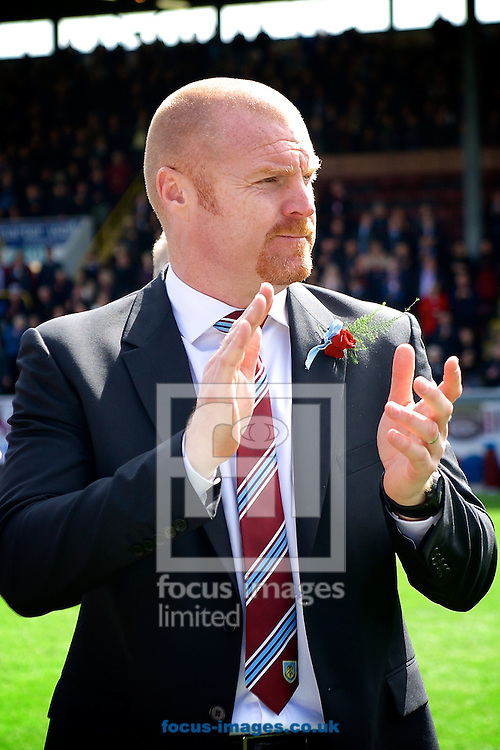Burnley manager Sean Dyche following the Sky Bet Championship match at Turf Moor, Burnley<br /> Picture by Ian Wadkins/Focus Images Ltd +44 7877 568959<br /> 26/04/2014