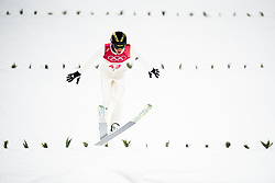 February 8, 2018 - Pyeongchang, SOUTH KOREA - 180208 Peter Prevc of Slovenia competes during the Men's Normal Hill Individual Qualification ahead of the 2018 Winter Olympics on February 8, 2018 in Pyeongchang..Photo: Jon Olav Nesvold / BILDBYRN / kod JE / 160146 (Credit Image: © Jon Olav Nesvold/Bildbyran via ZUMA Press)