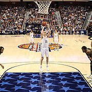 Breanna Stewart, UConn, at the free-throw line during the UConn Huskies Vs USF Bulls Basketball Final game at the American Athletic Conference Women's College Basketball Championships 2015 at Mohegan Sun Arena, Uncasville, Connecticut, USA. 9th March 2015. Photo Tim Clayton