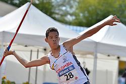 06/08/2017; Castro Ramirez, Duvan Joel, F36, COL at 2017 World Para Athletics Junior Championships, Nottwil, Switzerland