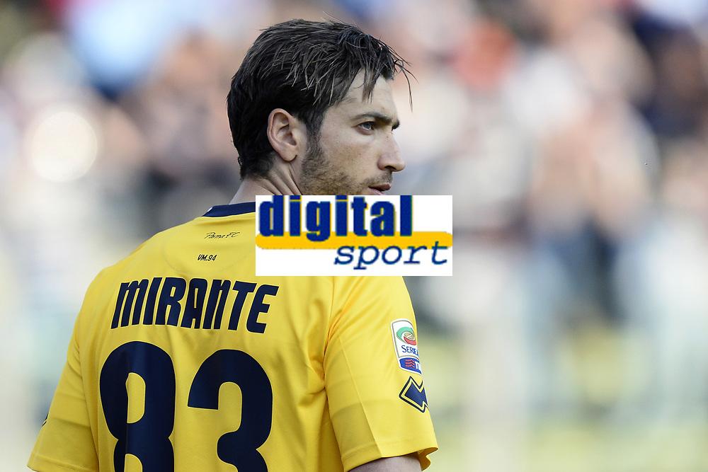 Antonio Mirante<br /> Parma 11-04-2015 Stadio Tardini, Football Calcio Serie A Parma - Juventus Foto Image Sport / Insidefoto