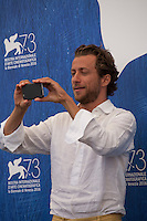 Director Francesco Carrozzini at the Franca: Chaos And Creationt film photocall at the 73rd Venice Film Festival, Sala Grande on Friday September 2nd 2016, Venice Lido, Italy.