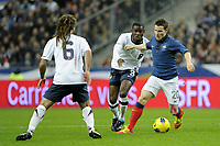 FOOTBALL - INTERNATIONAL FRIENDLY GAMES 2011/2012 - FRANCE v USA - 11/11/2011 - PHOTO JEAN MARIE HERVIO / DPPI - KEVIN GAMEIRO (FRA) / MAURICE EDU (USA)
