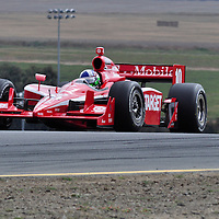 Dario Franchitti at Indycar August 2011, Infineon Sears Point.