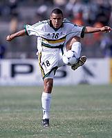 Fotball<br /> Afrikamesterskapet/African Nations cup 2002<br /> Sør Afrika v Marokko<br /> Foto: Digitalsport<br /> NORWAY ONLY<br /> DELRON BUCKLEY (RSA)