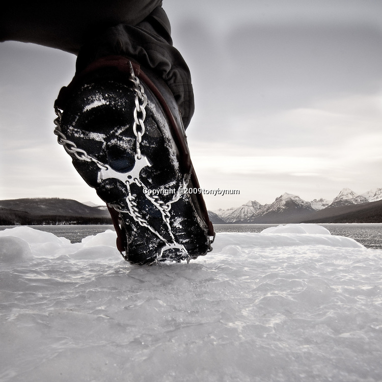 Winter GNP Lake McDonald