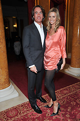 TIM & MALIN JEFFERIES at a party to celebrate 300 years of Tatler magazine held at Lancaster House, London on 14th October 2009.