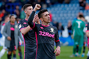 Leeds United midfielder Pablo Hernandez (19) applauds the fans during the EFL Sky Bet Championship match between Huddersfield Town and Leeds United at the John Smiths Stadium, Huddersfield, England on 7 December 2019.