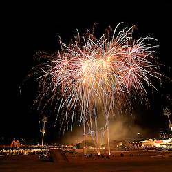 Fireworks! big bangs, colourful and loud. This was taken at the Brisbane Ekka. It was loud and wonderful.