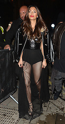 Nicole Scherzinger enjoys a night out at the Tape nightclub in London, UK. 12/12/2016<br /> BYLINE MUST READ : GOTCHAIMAGES.COM<br /> <br /> Copyright by © Gotcha Images Ltd. All rights reserved.<br /> Usage of this image is conditional upon the acceptance <br /> of Gotcha Images Ltd, terms and conditions available at<br /> www.gotchaimages.com