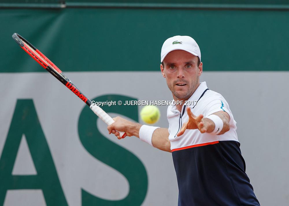 ROBERTO BAUTISTA AGUT (ESP)<br /> <br /> Tennis - French Open 2017 - Grand Slam ATP / WTA -  Roland Garros - Paris -  - France  - 29 May 2017.