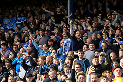 Portsmouth fans - Mandatory by-line: Jason Brown/JMP - 14/04/2017 - FOOTBALL - Fratton Park - Portsmouth, England - Portsmouth v Plymouth Argyle - Sky Bet League Two