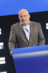 May 27, 2019 - Brussels, Brussels, Belgium - The candidate at the head of the European Commission Frans TIMMERMANS (PS-E group), in a press conference following the results of the 2019 European elections. (Credit Image: © Nicolas Landemard/Le Pictorium Agency via ZUMA Press)