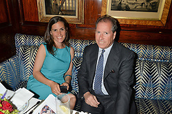 ANNA KEAY and VISCOUNT LINLEY at the Bedales Art & Design Party hosted by David Linley at Annabel's, 44 Berkeley Square, London on 30th June 2015.