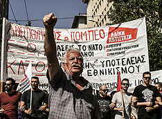 Protest against Pompeo's Visit to Greece, Athens, 5 October 2019