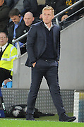 Garry Monk during the Capital One Cup match between Hull City and Swansea City at the KC Stadium, Kingston upon Hull, England on 22 September 2015. Photo by Ian Lyall.