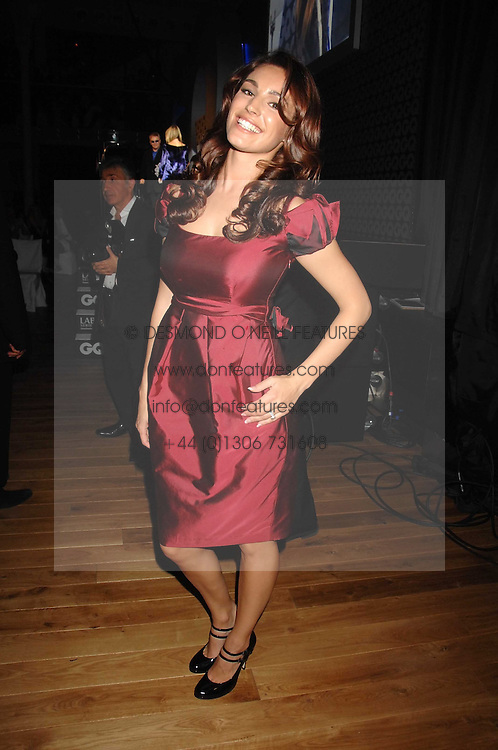 KELLY BROOK at the 10th annual GQ Men of the Year Awards held at the Royal Opera House, Covent Garden, London on 4th September 2007.<br /><br />NON EXCLUSIVE - WORLD RIGHTS