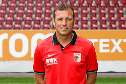 08.07.2015, WWK Arena, Augsburg, GER, 1. FBL, FC Augsburg, Fototermin, im Bild Chef-Trainer Markus Weinzierl (FC Augsburg) // during the official Team and Portrait Photoshoot of German Bundesliga Club FC Augsburg at the WWK Arena in Augsburg, Germany on 2015/07/08. EXPA Pictures © 2015, PhotoCredit: EXPA/ Eibner-Pressefoto/ Kolbert<br /> <br /> *****ATTENTION - OUT of GER*****