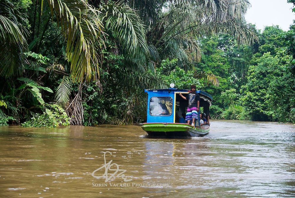 Visiting Tortuguero Natioinal Park on the Caribbean coast of Costa Rica